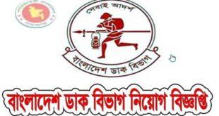 Bangladesh Post Office Govt Job Application Form- bangladeshpost.gov.bd